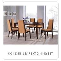 COS-LYNN LEAF EXT DINING SET